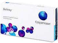 Контактные линзы Biofinity 4 шт.