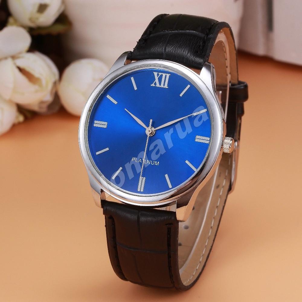 Мужские кварцевые часы Geneva Blue