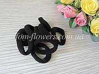 Резинка для волос. Цвет черный. 10 шт. 4,5см