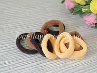 Резинка для волос. Цвет черный. 10 шт. 4,5см, фото 1