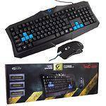 Клавиатура+мышь Gemix WC-200 USB (Black), Игровой комплект