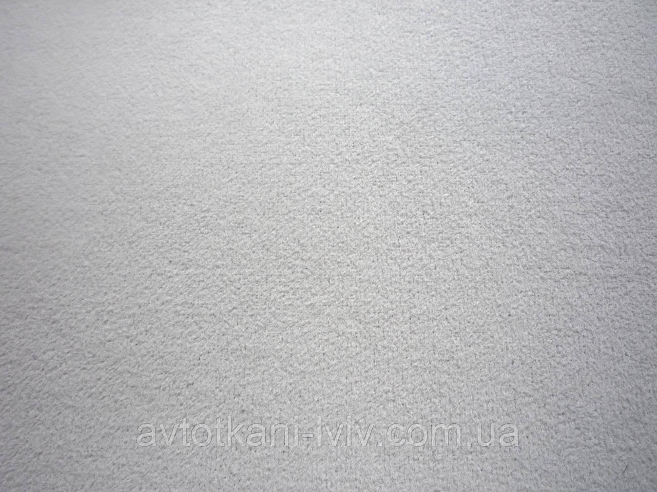 Ткань для обшивки потолка автомобиля,велюр однотонный.