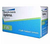 Контактные линзы Optima FW Bausch Lomb 4 шт.