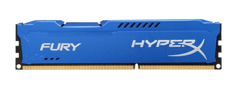 Модуль памяти DDR3 8GB/1866 Kingston HyperX Fury Blue (HX318C10F/8)