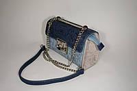 Сумка-клатч David Jones 3445 l.blue/d.blue