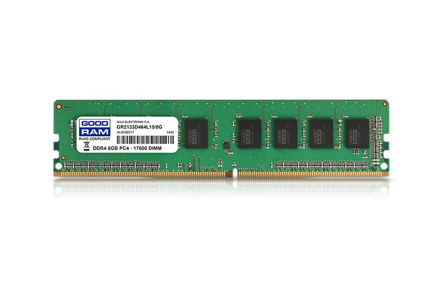 Модуль памяти DDR4 8Gb/2133 GOODRAM (GR2133D464L15/8G)
