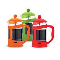 Заварник кофе-чай (1,0 л.) оранжевый