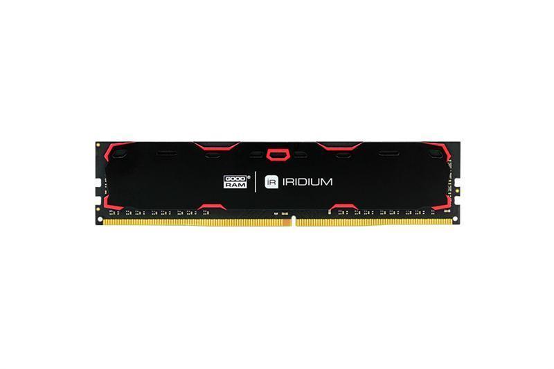 Модуль памяти DDR4 8GB/2400 GOODRAM Iridium Black (IR-2400D464L15S/8G)