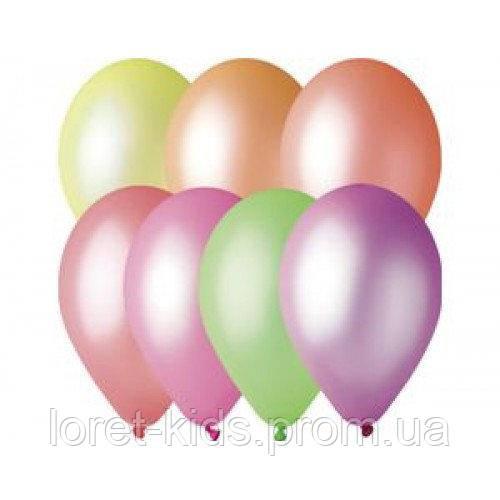 """Воздушные шарики ассорти неон 3"""" (8 см) латексные бомбочки"""