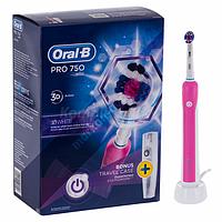 Зубна електрощітка Oral-B PRO 750 pink