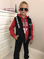 Детский спорт костюм тройка.Размер:98-128.