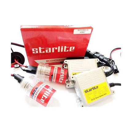 Комплект ксенона H1 4300K Starlite Slim, фото 2