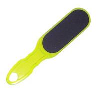 Тёрка для стоп пластиковая (зеленая) A3-10 (100/180) (AC 10/1)