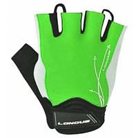 Перчатки Longus LADY GEL, светло-зеленые, размер М