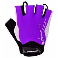 Перчатки Longus LADY GEL, фиолетовые, размер L