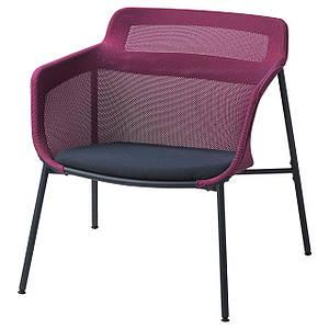 Кресло розовое