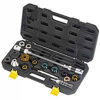 Набор ключей ICE TOOLZ E185 для торцевания и расточки рулевой трубы и каретки (E17A,E17B,E17C,E18A,E18B,E17F)