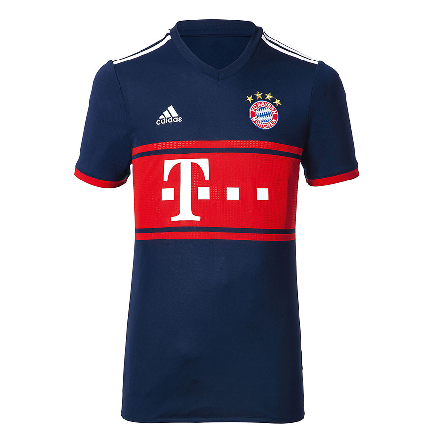 0aa36350bf9e Футбольная форма Бавария темно-синяя сезон 2017-2018.Купить в ...