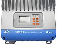 Контроллер MPPT 60A 12/24/36/48В с дисплеем, (iT6415ND), EPSolar