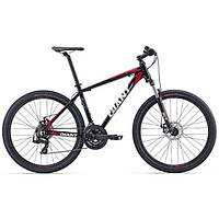 """Велосипед 27.5"""" Giant 2016 ATX 2, черный/красный, L"""