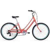 """Велосипед женский 26"""" Giant 2016 Liv Suede 2, коралловый, M"""