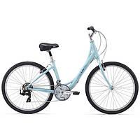 """Велосипед женский 26"""" Giant 2016 Sedona W, голубой, XS/14"""