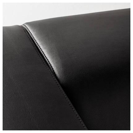 КЛИППАН Диван-кровать, Kimstad черный, фото 2