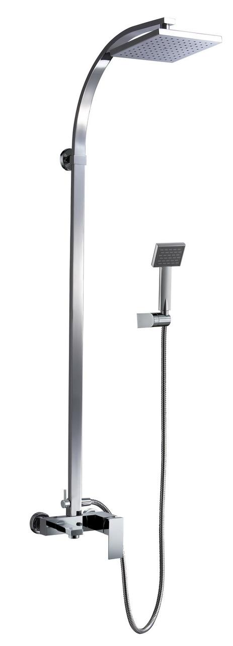 Настенный комплект для ванныBlue Water tor-zwpn.500 хром  с душевой головой и душем