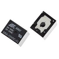 2x Реле электромагнитное SRA-12VDC-CL 5pin 12В 20А