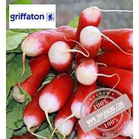 Griffaton Французский Завтрак (French Breakfast) семена редиса Griffaton, оригинальная упаковка (500 грамм)