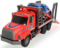Автотранспортер (57 см) с воздушной помпой и легковым авто, Dickie Toys