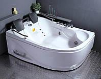 Ванна 1800*1240*660 угловая гидро+аэро (левая), APPOLLO АТ-0929-A