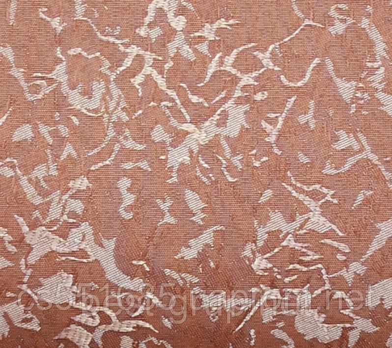 MSV-022 Персикові рум'яна (0,425 х 1,70 м) Venecia (Венеція) -тканинні ролети Oasis Оазис