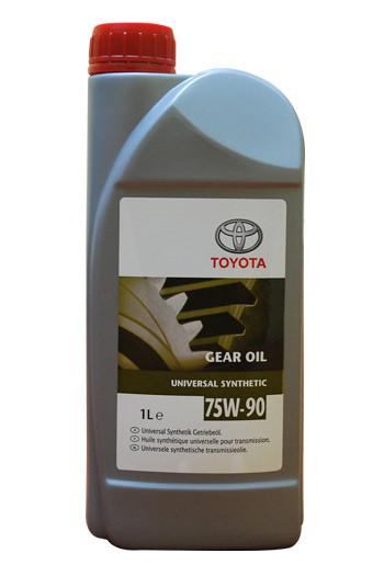 Синтетическое трансмиссионное масло Toyota 75w-90