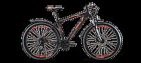 "Велосипед Lombardo 17' 27,5"" Sestriere 350 U City 19"" black/orange 2017"