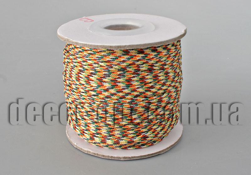 Шнурок для браслетов цветной на катушке 1,5мм/45ярд