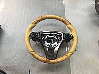 Mercedes Vito W447 Руль натуральный шпон и кожа