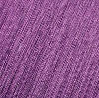 Шторы Нити, кисея, фиолетовый №205