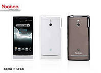 Чехол для Sony Xperia P LT22i - Yoobao 2 in 1 Protect case