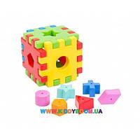 Развивающая игрушка Волшебный куб Тигрес 12 элементов 39176