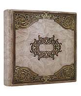 """Книга почетных гостей Книга почетных гостей натуральная кожа""""Да Винчи""""  28см х 29см  Foliant (EG484 x 97529)"""