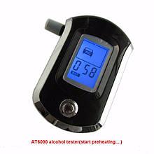 Алкотестер ALT-09 персональний з напівпровідниковим датчиком, LCD дисплеєм роз'ємом для зарядки