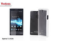 Чехол для Sony Xperia S LT26i - Yoobao 2 in 1 Protect case