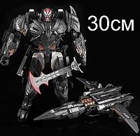 """Огромный робот-трансформер Мегатрон из 5-го фильма Трансформеры """"Последний Рыцарь"""" - Rendsora, Megatron, 30 см"""
