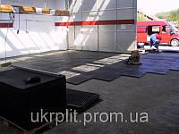 Резиновое напольное покрытие для складских помещений