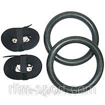 Кольца гимнастические для Кроссфита C-3390, фото 3