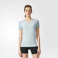 Женская беговая футболка adidas Primeknit Wool Tee CE5817