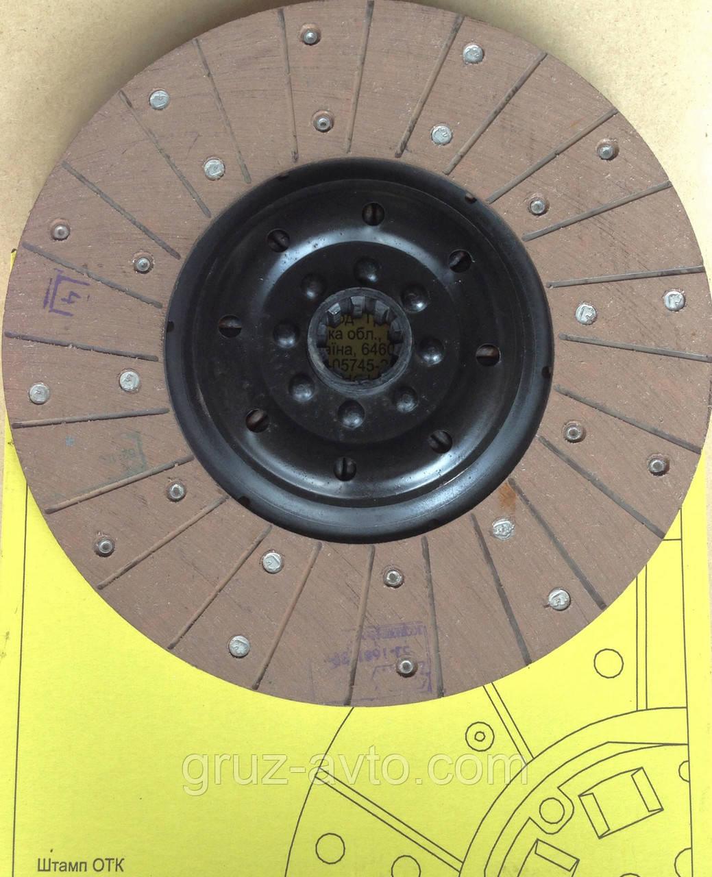Диск сцепления ведомый Газ-53 усиленный / 53У-1601130