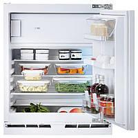 HUTTRA Встроенный холодильник, морозильная камера, белый
