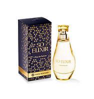 ОРИГИНАЛ  Yves rocher Парфюмированная Вода So Elixir со эликсир духи ив роше франция 50мл классика!